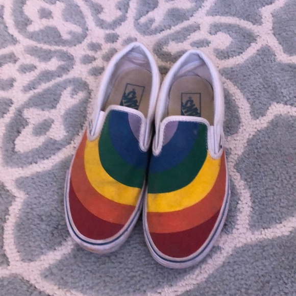 Limited Edition 28 Vans Pride Shoes
